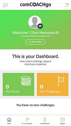 Challenges on dashboard of CCGO app